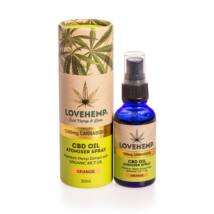 Love Hemp® 1200mg CBD Olaj Spray - 30ml - Narancs ízű