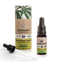 Love Hemp® 2000mg 20% CBD Olaj – 10ml Borsmenta ízesítéssel