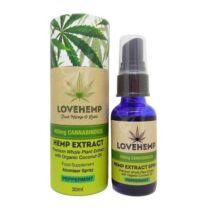 Love Hemp® 400mg CBD olajspray – 30ml Borsmenta ízesítéssel