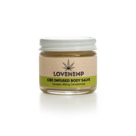 Love Hemp® 300mg CBD Body Salve – 50ml