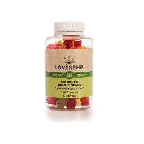 Love Hemp® CBD Gummy Bears – 500mg