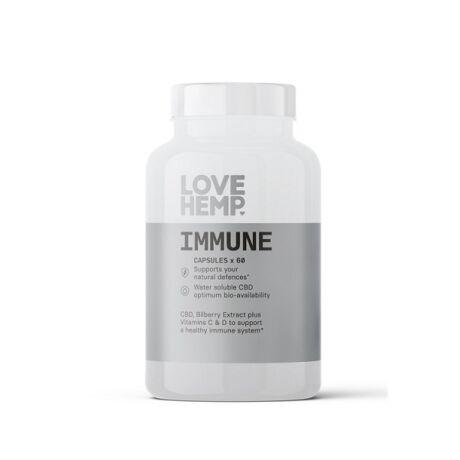600mg CBD Vegan Kapszula | Love Hemp® Immune  | myHempStore.eu