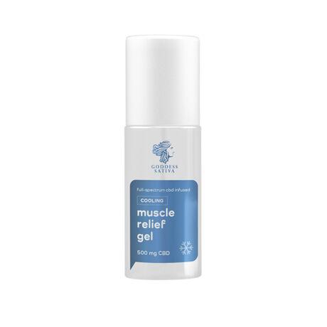 Goddess Sativa Hűsítő Izomlazító gél 500mg CBD, 100 ml