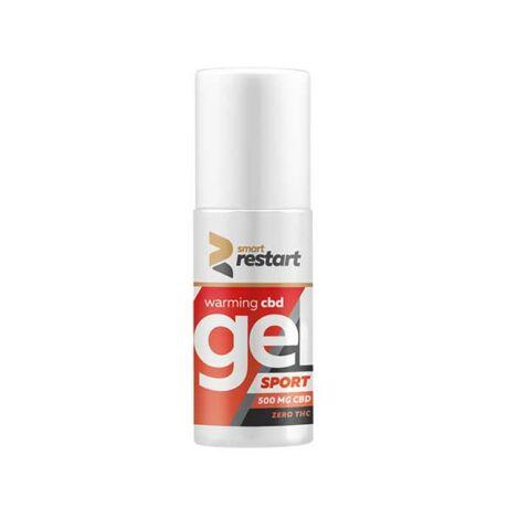Reakiro Warming Muscle Relief Gel 500mg CBD