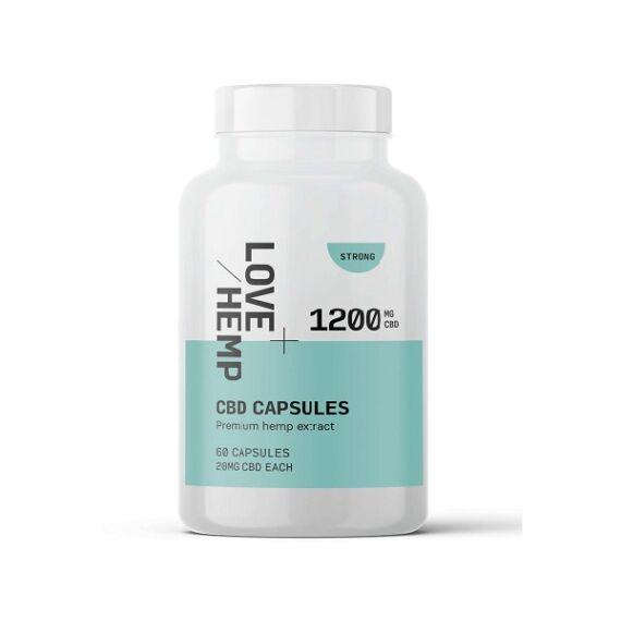 Love Hemp® 1200mg CBD Kapszula - myHempStore.eu