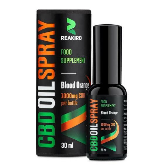 CBD Olaj Spray Blood Orange 1000mg - 30ml